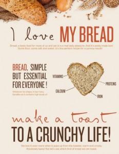 Brot-Info-Tägliches Frühstück